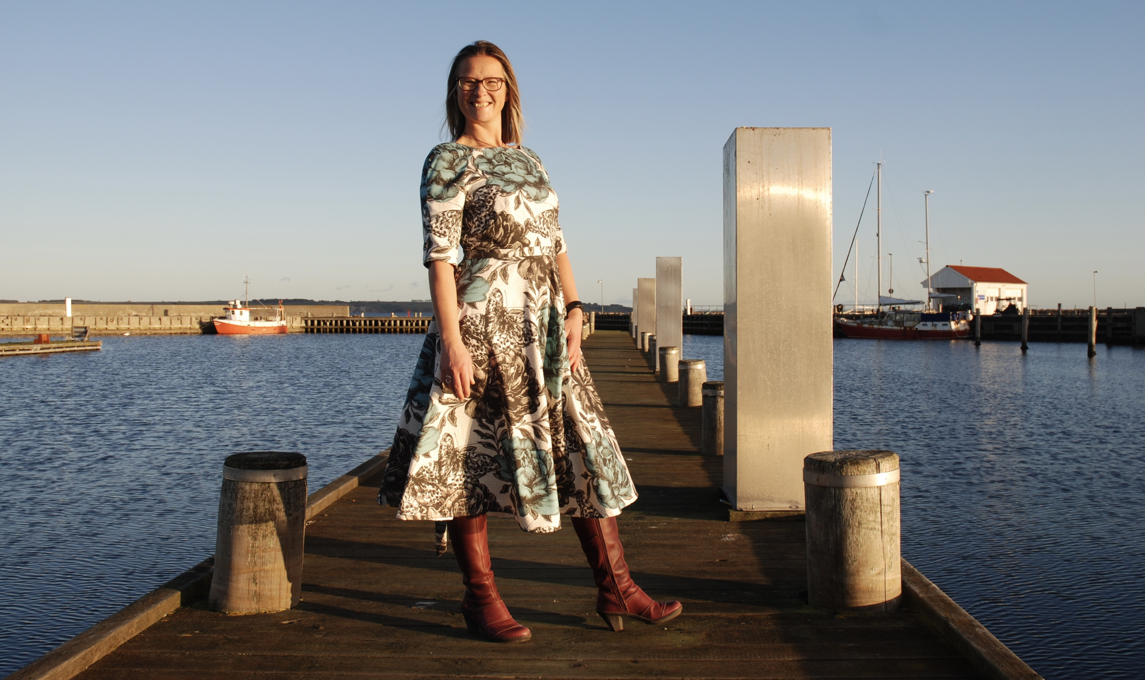 Lavendula Eliqu sewing pdfpattern dress